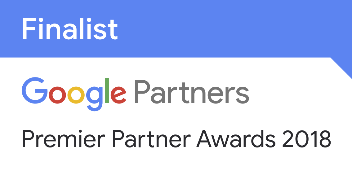 Google Premier Partner Awards Finalist